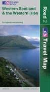 9780319230787: Western Scotland and the Western Isles (OS Travel Map - Road Map)