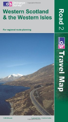 9780319230886: Western Scotland and the Western Isles (OS Travel Map - Road Map)