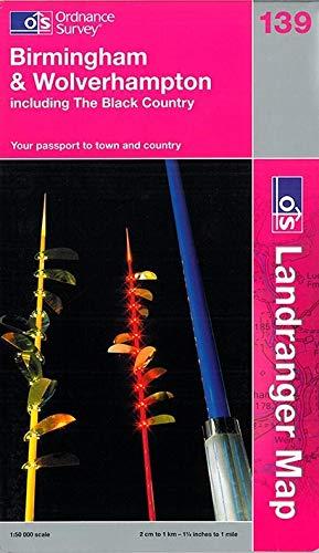 9780319231753: L/R Map 139 Birmingham & Wolverhampthon (Landranger Maps) (OS Landranger Map)