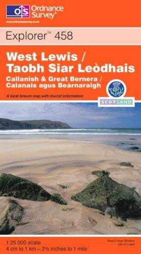 West Lewis/Taobh Siar Leodhais (Explorer Maps): Ordnance Survey