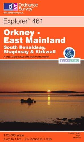 Ordnance Survey Explorer Map 461 Orkney -: Ordnance Survey