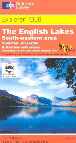 The English Lakes: South Eastern Area (Explorer: Ordnance Survey