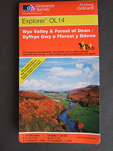 9780319234501: Wye Valley and Forest of Dean (Explorer Maps)