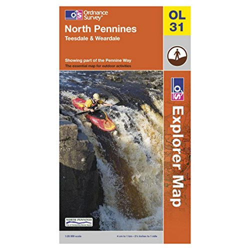 9780319234662: North Pennines: Teesdale and Weardale (Explorer Maps)
