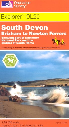 9780319235461: South Devon (Explorer Maps)