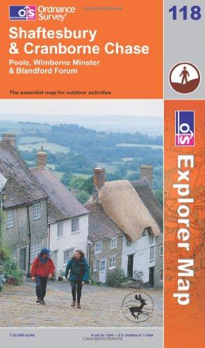 9780319235959: Shaftesbury and Cranborne Chase (Explorer Maps) (OS Explorer Map)