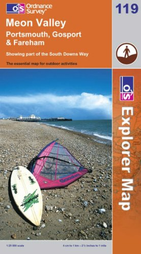 Meon Valley, Portsmouth, Gosport and Fareham (Explorer: Ordnance Survey