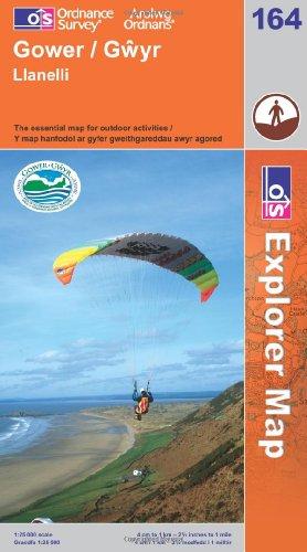 9780319236284: Gower, Llanelli (Explorer Maps) (OS Explorer Map)