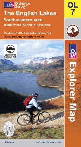 9780319236598: The English Lakes: South Eastern Area (Explorer Maps)