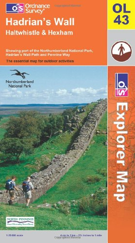 9780319236741: Hadrian's Wall (OS Explorer Map)