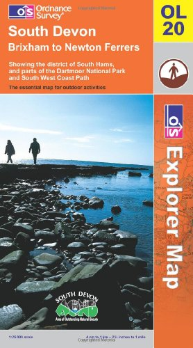 9780319236932: South Devon (Explorer Maps) (Explorer Maps) (OS Explorer Map)