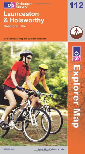 9780319237113: Launceston and Holsworthy. Roadford Lake: Explorer Map 112 (Explorer Maps)
