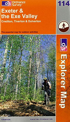 9780319237137: Exeter and the Exe Valley (Explorer Maps) (OS Explorer Map Active)