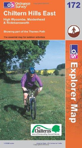 9780319237267: Chiltern Hills East (Explorer Maps) 181 (OS Explorer Map)