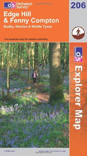 9780319237632: Edge Hill and Fenny Compton (Explorer Maps) (OS Explorer Map Active)