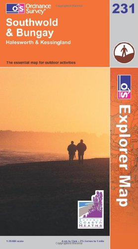 9780319238059: Southwold and Bungay (Explorer Maps) (OS Explorer Map)