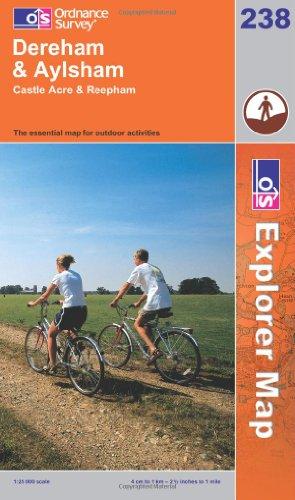 9780319238103: East Dereham and Aylsham (Explorer Maps) (OS Explorer Map Active)