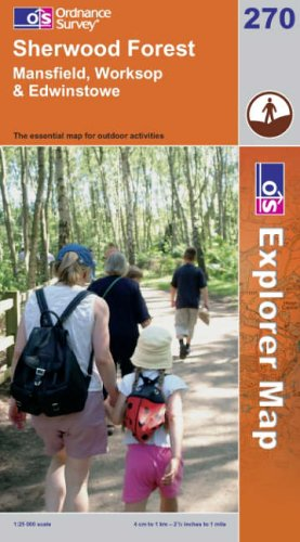 9780319238189: Sherwood Forest (Explorer Maps)