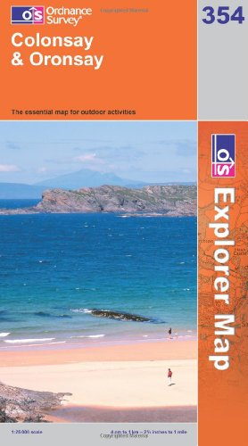 9780319238608: Colonsay and Oronsay (Explorer Maps) 354 (OS Explorer Map)