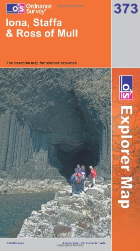 Iona, Staffa and Ross of Mull (OS: Ordnance Survey