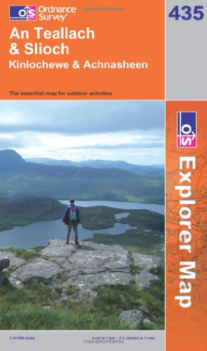9780319239704: An Teallach & Slioch (OS Explorer Map)