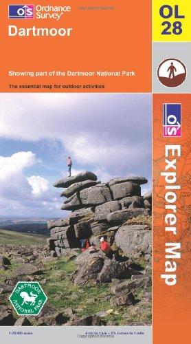 Dartmoor (OS Explorer Map): Ordnance Survey