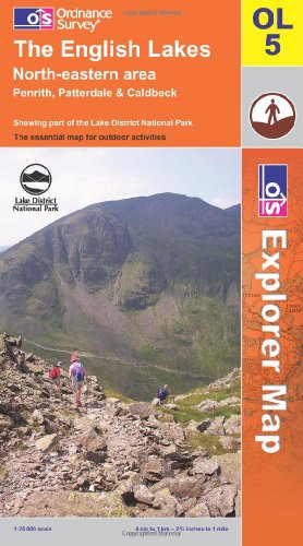 9780319240229: The English Lakes: North Eastern Area (OS Explorer Map)