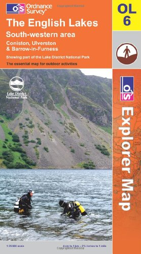 9780319240236: The English Lakes: South Western Area (OS Explorer Map)