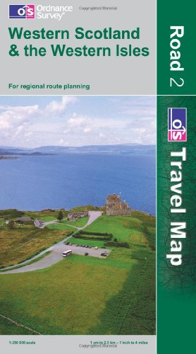 9780319240601: Western Scotland and the Western Isles (OS Travel Map - Road Map)