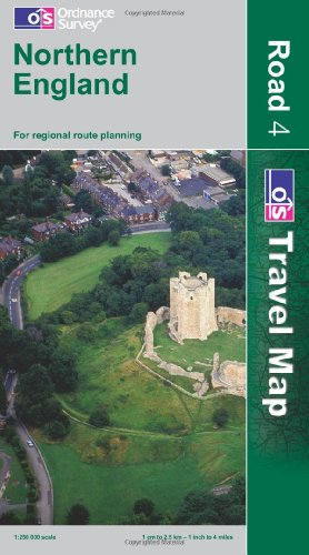 9780319240625: Northern  England (OS Travel Map - Road Map)