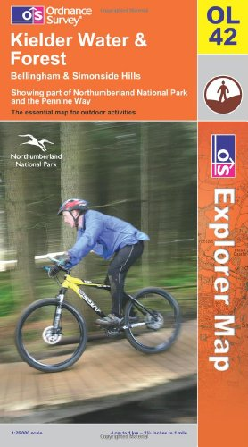 9780319240885: Kielder Water and Forest (OS Explorer Map)