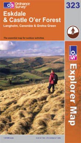 9780319240946: Eskdale and Castle O'er Forest (Explorer Maps) 323 (OS Explorer Map)