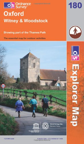 9780319241134: Oxford, Witney and Woodstock (OS Explorer Map)