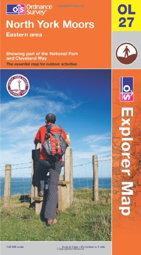 North York Moors - Eastern Area (OS Explorer Map): Ordnance Survey