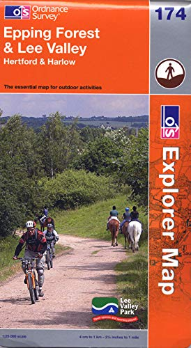 9780319241547: Epping Forest & Lee Valley (OS Explorer Map)