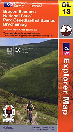 9780319241578: Brecon Beacons National Park - Eastern Area (OS Explorer Map)