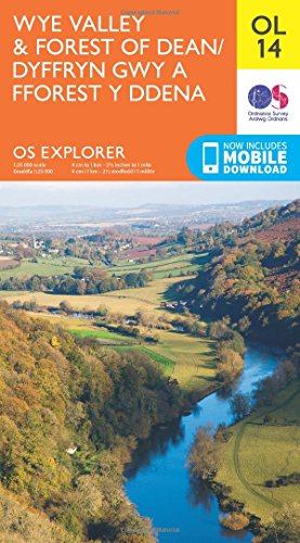 9780319242537: OS Explorer OL14 Wye Valley and Forest of Dean (OS Explorer Map)