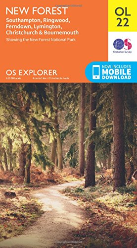 9780319242612: New Forest (OS Explorer Map)