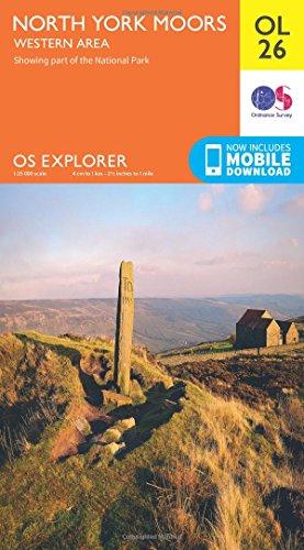 North York Moors - Western Area (OS Explorer Map): Ordnance Survey