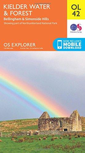 9780319242810: OS Explorer OL42 Kielder Water & Forest (OS Explorer Map)