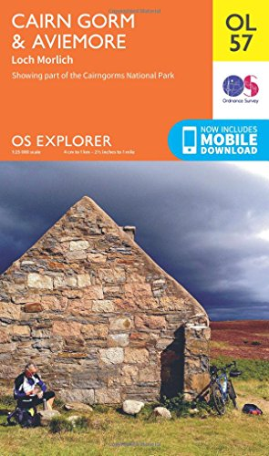 Cairn Gorm & Aviemore, Loch Morlich (OS Explorer Map): Ordnance Survey