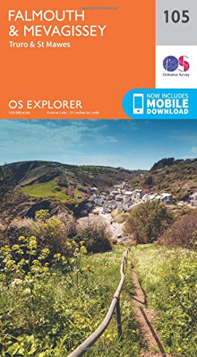 Falmouth and Mevagissey, Truro and St Mawes (OS Explorer Map): Ordnance Survey