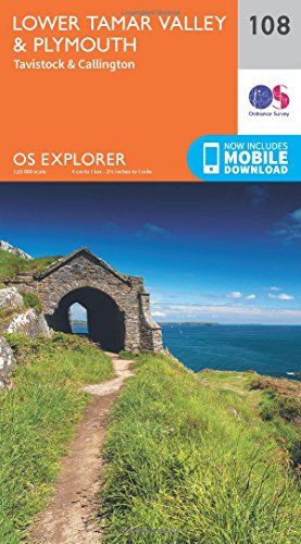 Lower Tamar Valley and Plymouth (OS Explorer Map): Ordnance Survey