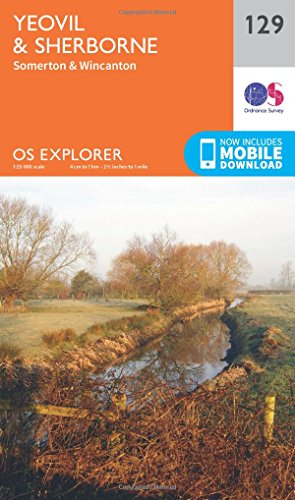9780319243251: Yeovil and Sherbourne (OS Explorer Map)