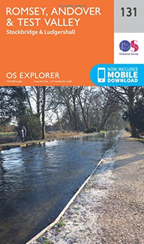 9780319243275: Romsey, Andover and Test Valley (OS Explorer Map)