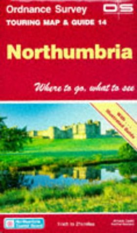 9780319245026: Northumbria (Touring Maps & Guides)