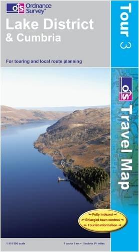 9780319245354: Lake District (Os Tour Map) Tour03 (OS Travel Map - Tour Map)