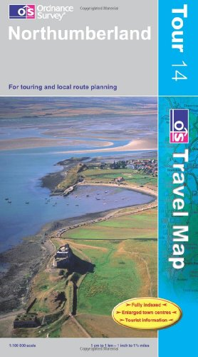 9780319245392: **Northumberland (OS Travel Map - Tour Map)