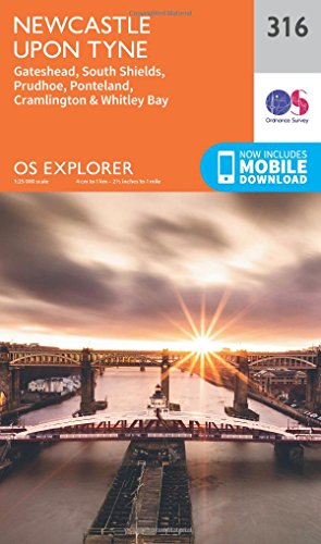 9780319245682: Newcastle Upon Tyne (OS Explorer Map)