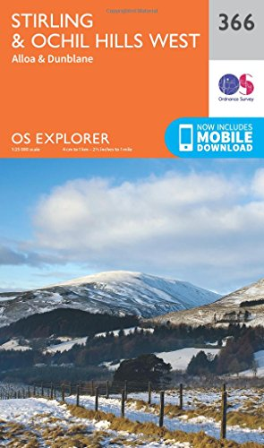 9780319246146: Stirling and Ochil Hills West (OS Explorer Map)